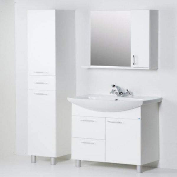 13.35 (3) Полка зеркальная 50 ЭКО+ со шкафом L/R