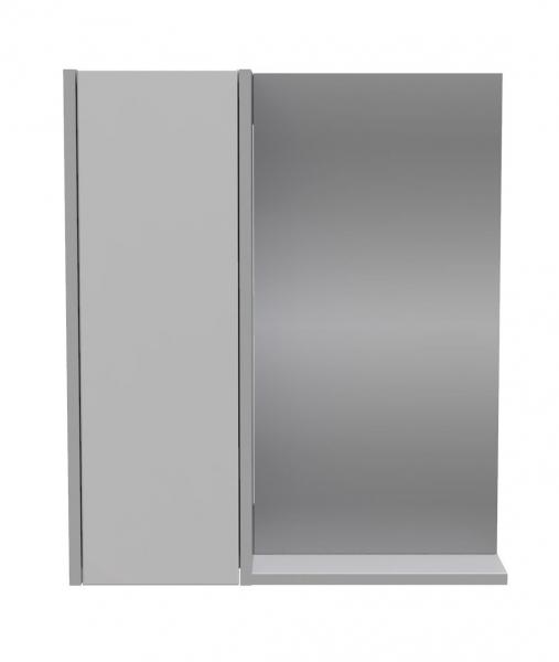 112.21-01 Полка зеркальная  Line 60 со шкафом левая