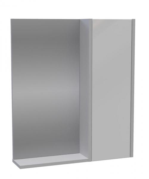 112.21 Полка зеркальная  Line 60 со шкафом правая