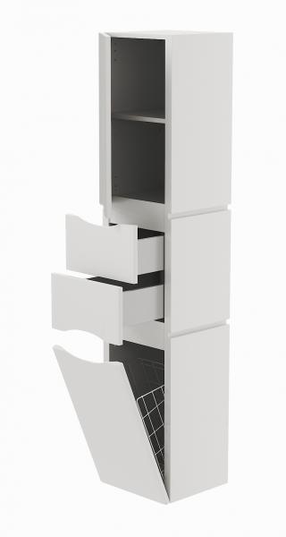 41.05 (1) Шкаф 35 Латтэ с корзиной подвесной L/R
