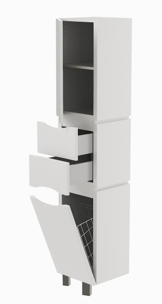 41.06 (1) Шкаф 35 Латтэ с корзиной напольный L/R