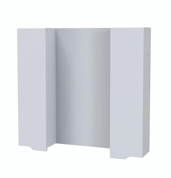 43.04 Полка зеркальная со шкафом 85 Роял