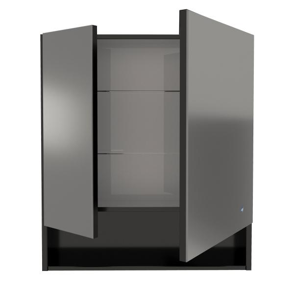 61.32 (9) Шкаф зеркальный Фиджи 80