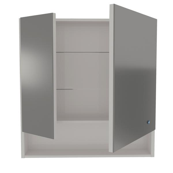 61.32 Шкаф зеркальный 80 Фиджи