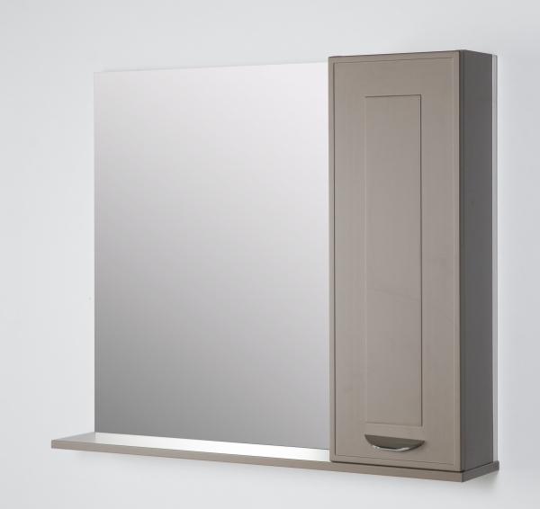 63.23 (4) Полка зеркальная 85 Манчестер со шкафом