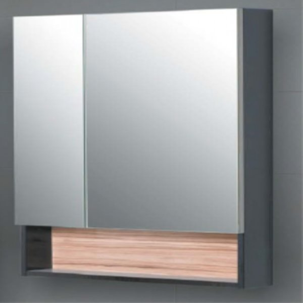 57.08 (106) Шкаф зеркальный 80 Домино