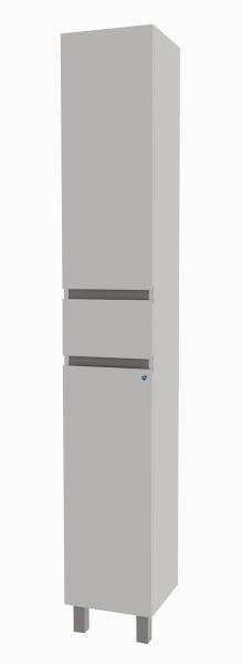 47.03 Шкаф 30 Бергамо с ящиком и с корзиной L/R