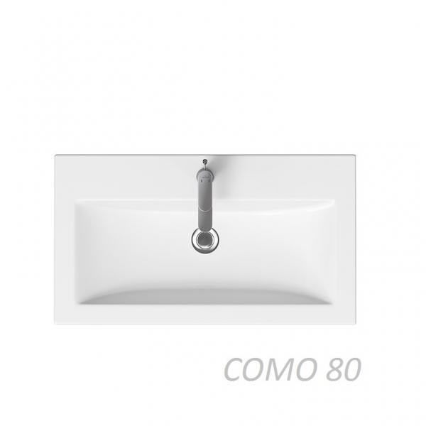 41.30  Тумба под умывальник Латтэ 80  подвесная (TANDEMBOX antaro Blum)