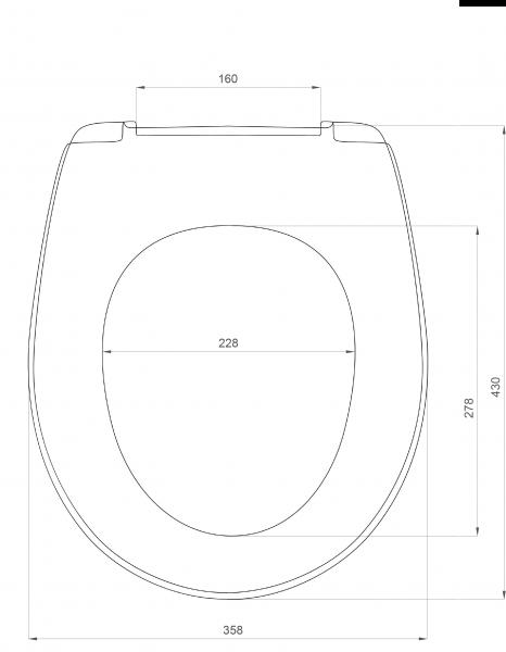 SD 15m (soft-close) плавное опускание