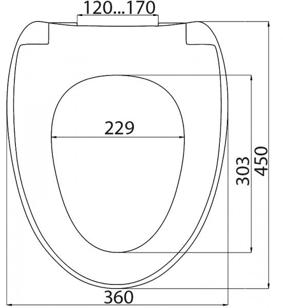 SD 17m (soft close+ быстросъём) плавное опускание
