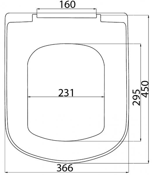 SD 11m (soft-close) плавное опускание